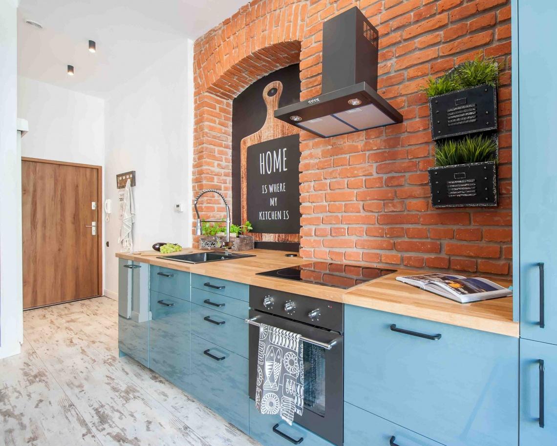 Modern Loft Apartment Interior Design In Tenement House